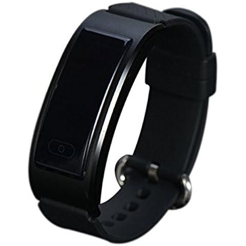 DF23 intelligenti Sport bracciale orologio da polso impermeabile IP68 Fitness Tracker Heart Rate Monitor Swim Wireless Activity Wristband per Android iOS Smart Phones