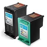 AIcase Multipack, ersetzt HP 350 351XL, Remanufactured Druckerpatronen, Druckköpfe kompatibel zu HP 350/351XL Tintenpatronen