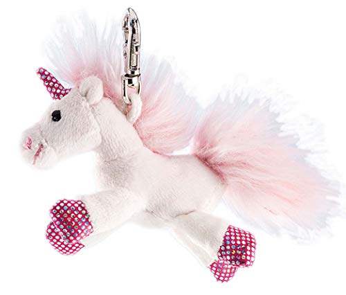 The Good Gift Shop Wesentliches Geschenk. Roman Teddybär Schlüsselring. Teddybär Schlüssel - Kette Einhorn Shiny (Teddybären Sammlerstücke)