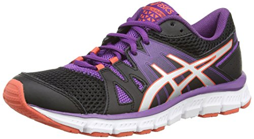 ASICS Gel-Unifire, Damen Laufschuhe Training Schwarz (Onyx/Silver/Purple 9993)