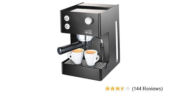 Gaggia Espresso Cubika Plus Ri815160 Coffee Machine Black
