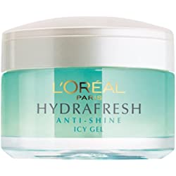 L'Oreal Paris Dermo Expertise Hydrafresh Anti Shine Icy Gel, 50ml