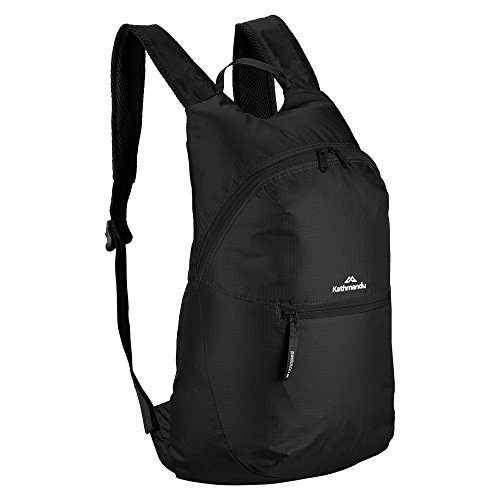 Kathmandu Pocket Pack v4 Faltbare 15 Liter Tasche Schwarz
