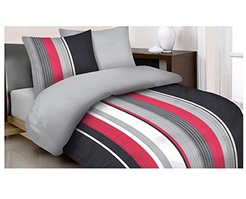 MAXI-MINI & Prestige biancheria da letto Set Copripiumino 160x 200federa 70x 280cm 100% cotone (PR3053)