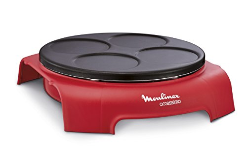 Moulinex PY312511 Crepera, 720 V, color rojo