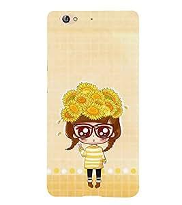 PrintVisa Designer Back Case Cover for Gionee S6 (Beautiful Floral Design :: Angel Baby :: Angel Face design :: Angel Girl :: Baby Doodle :: Baby Bear :: Babycheeks :: Bright Eyes :: Nice girl design wallpaper)
