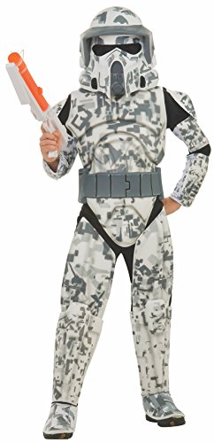Kostüm Trooper Kinder Star - Star Wars Deluxe Kinder Kostüm Arf Trooper Größe L - 140cm