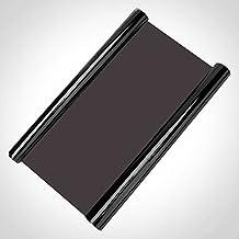 Auto5D High Gloss Vinyl Tint Smoke Film, 30X60cm (Dark Black)