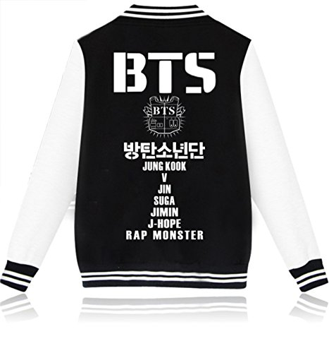 SERAPHY Unisex BTS Jacket For Army BTS Kpop Hoodies Suga Jin JIMIN Jung Kook J-Hope Rap-Monster V