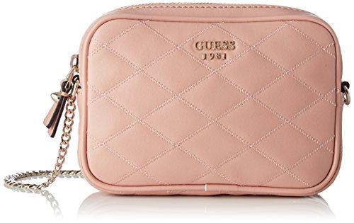 Guess Damen Bags Hobo Umhängetasche, Pink (Rose), 4.5x12x18.5 centimeters