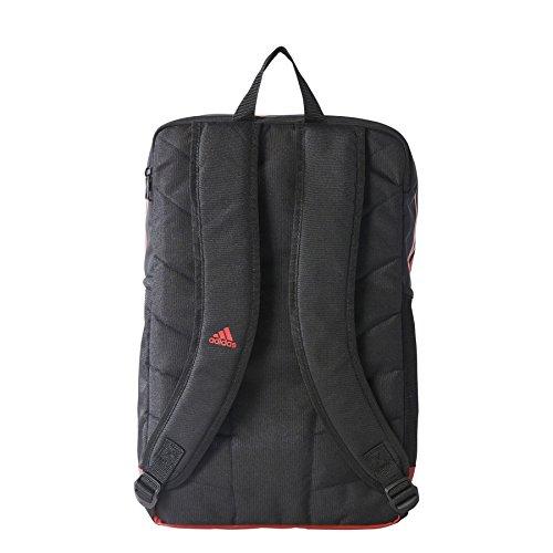 2017-2018 AC Milan Adidas Backpack (Black) Black/NEGRO/ROJVIC