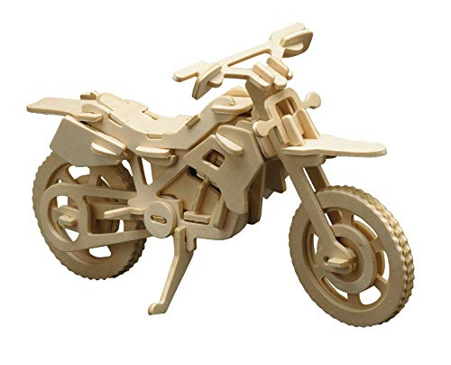Holzbausatz 3D Puzzle CrossMotorrad
