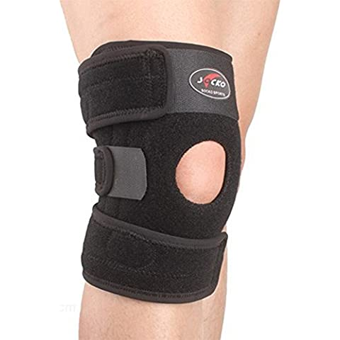 SaySure - Sports Leg Knee Support Brace Wrap Protector Pads
