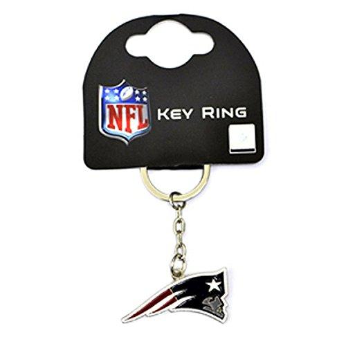 NFL New England Patriots Logo Schlüsselanhänger Crest Keyring Metall