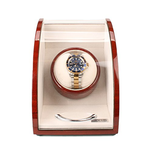 Axis Cherry Finish Wooden Single Watch Winder