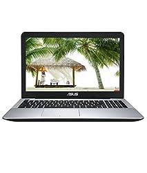 Asus X555LA-XX172D 15.6-inch Laptop (Core i3-4030U/4GB/500GB/DOS), Silver Black
