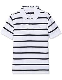 Tommy Hilfiger AME Yarn Dye Stripe S/S, Polo Para Niños