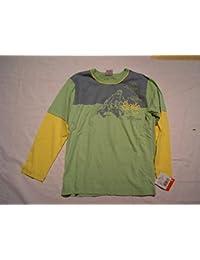 Liegelind Jungen Langarmshirt grün-gelb