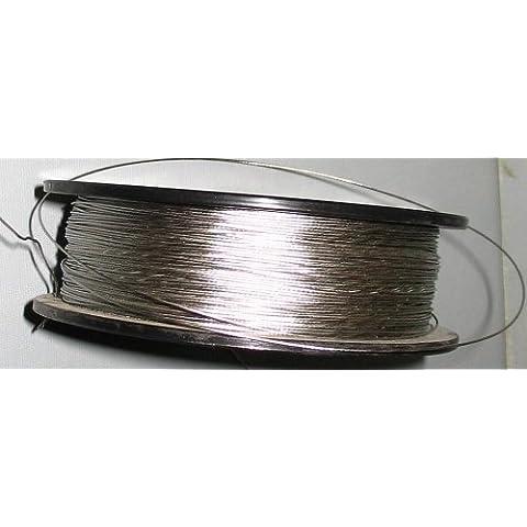 FULL ROLL 1125 FT 20 LB Stainless Steel FRAME Wire by Wiseacresart