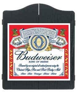 Winmau Budweiser Label Cible de fléchettes Armoire.