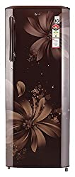 LG 270 L 5 Star Direct-Cool Single Door Refrigerator (GL-B281BHAN.DHAZEBN, Hazel Aster)