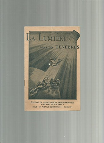 La Lumiere Dans Les Tenebres [Pdf/ePub] eBook