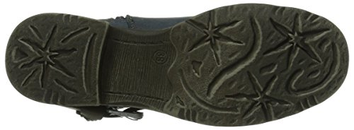 Marco Tozzi 25463 Damen Biker Boots Blau (Navy Ant. Comb / 815)