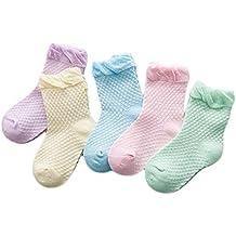 Namgiy - Calcetines de bebé para bebé, Antideslizantes, Suaves y elásticos, ...