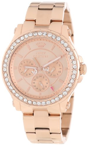 Juicy Couture Femme 1901050 Pedigree Rose Gold Plated Bracelet Montre