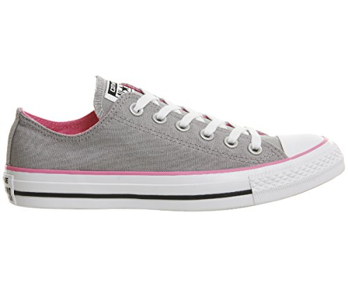 Converse AS Hi 1J793, Sneaker unisex adulto, Grau/Pink, 5 UK