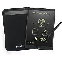Tavoletta LCD da Disegno 12 Pollici - NEWYES NYWT120- Memo Pad Grande Taglia da Ewriter LCD per Tablet da Tavoletta Grafica Compreso 1 Pennino 2 Magnete Servizio di Rimborso in Contanti 30 Giorni (Nero+Caso)