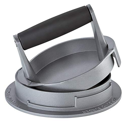 Küchenprofi KP1066823000 TRIO-KP1066823000 Hamburgerpresse, 18/8 Edelstahl, grau