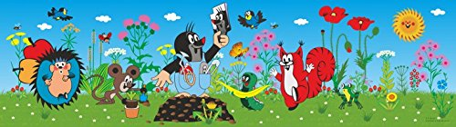 Krtek - Little Mole and Friends Póster Cenefa Adhesiva