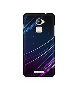 Gloss Gold Designer Back Cover for CoolPad Note 3 Lite - Printed Back Case - Design Back Case for Note 3 Lite