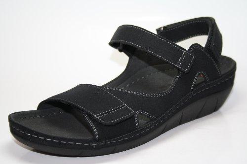 Berkemann, Sandali donna Nero nero Nero (Schwarz (schwarz 950))