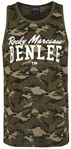 BENLEE Rocky Marciano Herren Scottsdale Tank Top, Camo Woodland, L