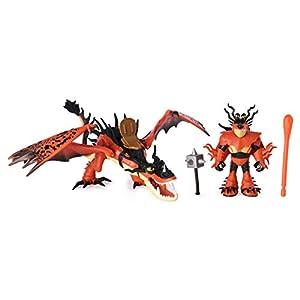 Dragons Dragon & Viking Snotlout/Hookfang - Figuras de Juguete para niños (Multicolor, 4 año(s), Niño/niña, Dibujos Animados, Animales, Dragon Riders)