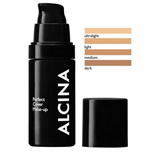 Alcina Perfect Cover Make-up light 30 ml Für perfekte Deckkraft & ein makelloses Erscheinungsbild 30 ml