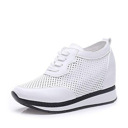 Chaussures de sport féminin/Hauteur de plate-forme augmentant des chaussures/Chaussures respirants coupes/Chaussures de sport pour les femmes A