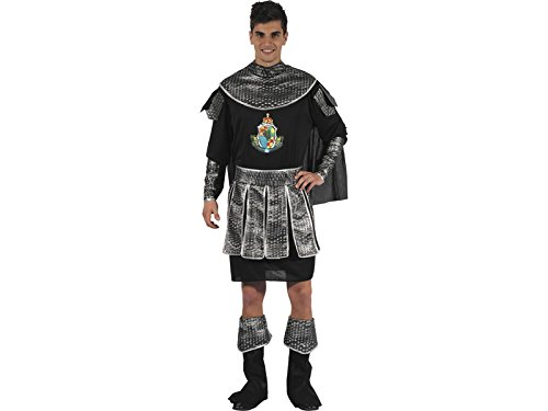 Imagen de disfraz romano negro hombre talla xl