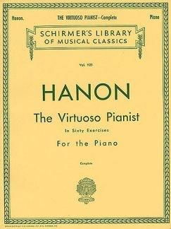 THE VIRTUOSE PIANIST CPLT - arrangiert für Klavier [Noten / Sheetmusic] Komponist: HANON CHARLES LOUIS