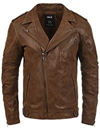 SOLID Mash Men's Leather Field Jacket