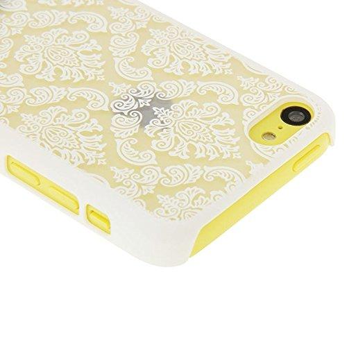wkae Schutzhülle Case & Cover Papier Schneiden Stil Kunststoff HardCase Schutzhülle FÜR iPhone 5C White