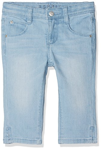 ESPRIT  Kinder  Jeans RJ22163 Blau (Stoned Denim 475), 122 cm (Mädchen Kurze Federn)