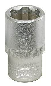 """KS Tools 911.1408 Douille F6 1/4"""" 8 mm CHROMEmat"""