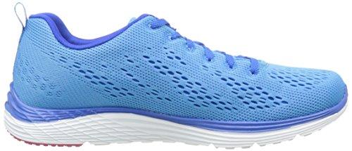 Skechers Valeris Back Stage Pass, Chaussures de Running Compétition femme Bleu (Bleu/Rose)