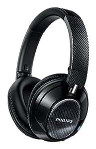 Philips SHB9850NC Wireless Noise Cancelling Bluetooth Headphone (Activeshield Pro, NFC) - Black