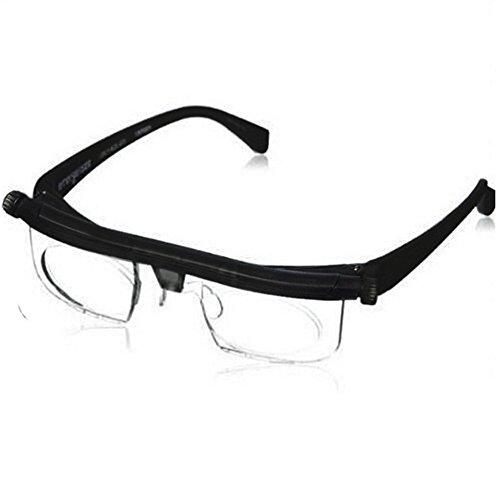 Einstellbare Brennweite kurzsichtige Brille Presbyopie Brillen Lesebrille Lupe Geschenk