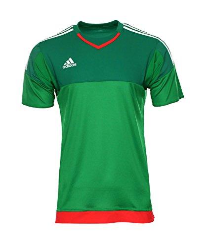 Adidas Goalkeeper GK Trikot kurzarm grün 13 / - Kurzarm Torwart Trikot