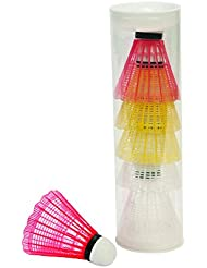 No label Badminton-Volants Volant plastique 6pcs assorti Multicoloured